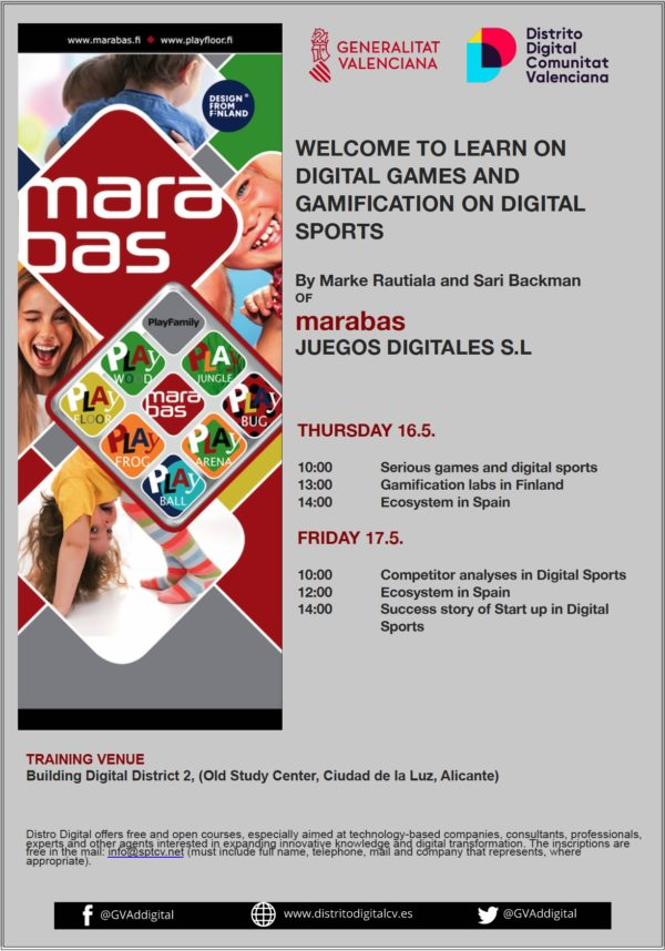 Marabas course in Digital Distritct Alicante