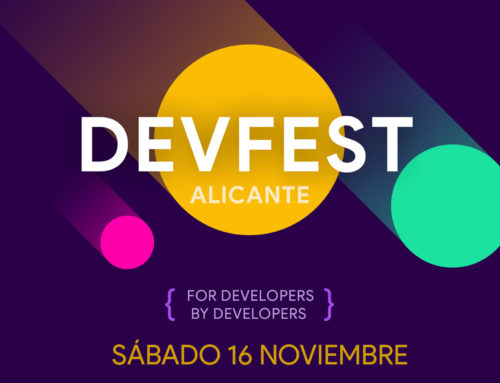 First Edition DevFest Alicante.