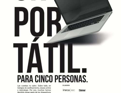 Distrito Digital se suma a la campaña #Tomamiportatil