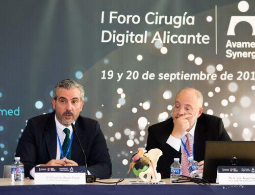 II Foro Cirugía Digital Alicante los días 14 y 15 de octubre, con el apoyo de Distrito Digital